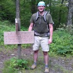 Nathan Beauchamp on the appalachian trail